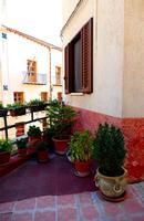 Balcone con piante   - Ciminna (704 clic)