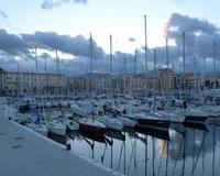 Barche alla Cala di Palermo (3453 clic)