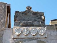 Gli stemmi del casato dei Lancia Castello di Brolo- giugno 2014  - Brolo (1363 clic)