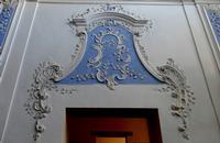 Cappella della Pentecoste Sopraporta decorato  - Ciminna (819 clic)