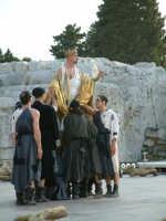 Rappresentazioni Classiche 2004 - teatro Greco di Siracusa.  - Siracusa (1554 clic)