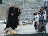 Rappresentazioni Classiche 2004 - teatro Greco di Siracusa.  - Siracusa (1403 clic)