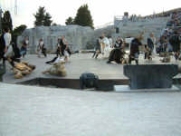 Rappresentazioni Classiche 2004 - teatro Greco di Siracusa.  - Siracusa (1378 clic)