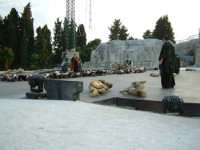 Rappresentazioni Classiche 2004 - teatro Greco di Siracusa.  - Siracusa (1518 clic)