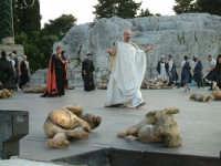 Rappresentazioni Classiche 2004 - teatro Greco di Siracusa.  - Siracusa (1369 clic)