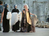 Rappresentazioni Classiche 2004 - teatro Greco di Siracusa.  - Siracusa (1547 clic)