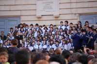 Festa Addolorata - Comiso Inno dei bambini alla Madonna in piazza Fonte Diana  - Comiso (6854 clic)