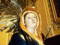 Primo piano statua Addolorata - Chiesa Madre Comiso  - Comiso (7521 clic)