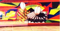 scenografia del Carnevale nelle Scuole  carnevale 2004 scenario palco realizzato dall'Ist. d'Arte   - Noto (3296 clic)