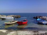 Caletta dell' antico Baglio dei pescatori di Carini.  - Carini (8605 clic)