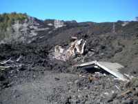 Eruzione 2002, Rifugio Distrutto  - Linguaglossa (4972 clic)