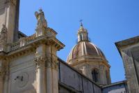 Cupola chiesa Maria SS della Catena   - Aci catena (5827 clic)