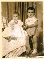 i fratelli Totuccio e Tony Emma Sommatino 1957- Fratelli Emma  - Sommatino (1618 clic)