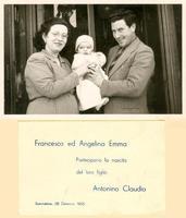 Sommatino - Partecipazione della nascita - 1955 (1750 clic)
