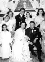 Foto di matrimonio di Emma Fsco - Sommatino 1954 (8696 clic)
