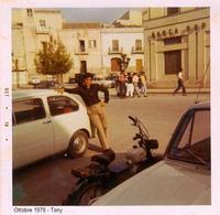 el guapo. Ottobre 1970 - Piazza di Sommatino - Tony  - Sommatino (1959 clic)