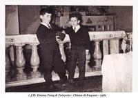 Tony e Totuccio Emma  i f.lli Emma Tony & Totuccio - Chiesa di Ragusa 1961 SOMMATINO Antonino EMMA b
