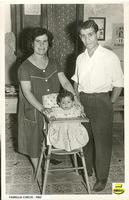 Famiglia Curcio Giuseppe  FAMIGLIA CURCIO - 1963  - Sommatino (3546 clic)