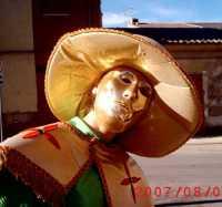 Lucia in maschera Maschera di Carnevale - Sommatino  - Sommatino (5350 clic)