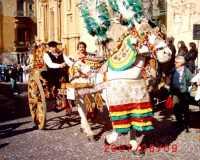 Festa del mandorlo in fiore: - Carretto siciliano Festa del mandorlo in fiore: - Carretto siciliano  - Sommatino (7051 clic)