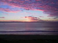 Vista dell'alba dal lungomare di Avola  - Avola (4133 clic)