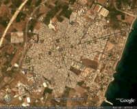Avola. Vista dal satellite  - Avola (8767 clic)