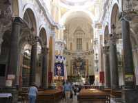 Chiesa della Madonna del Carmine - L'abside e l'altare maggiore   - Palermo (9316 clic)