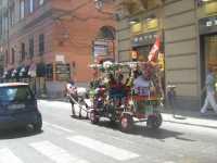 Carrozzella x tour centro storico di Palermo Agosto 2009  - Palermo (3500 clic)
