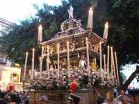 Processione con l'urna di S. Rosalia durante il Festino  - Palermo (4859 clic)
