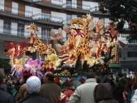 Carnevale di Acireale - Febbraio 2007 -  ( Sfilata carri infiorati )   - Acireale (7075 clic)