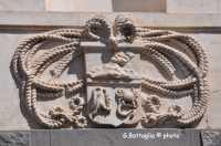 Particolare esterno Teatro Bellini  - Adrano (4060 clic)