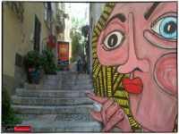 PARTICOLARE DI UN VICOLO A TAORMINA....  - Taormina (5741 clic)
