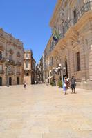 ortigia piazza duomo  - Siracusa (1383 clic)