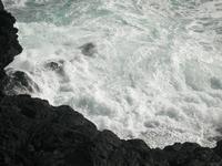 lungomare di rocce laviche    - Catania (1976 clic)