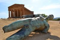 Tempio della concordia, Ikaro caduto. (888 clic)