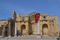 piazza alicia ex chiesa madre  - Salemi (1381 clic)