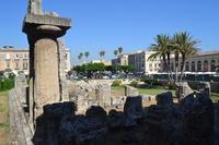 ortigia tempio di apollo  - Siracusa (1312 clic)