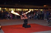 giocoliere col fuoco   - Mondello (1258 clic)