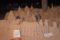sculture di sabbia   - San vito lo capo (1221 clic)