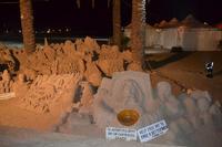 sculture di sabbia   - San vito lo capo (1082 clic)