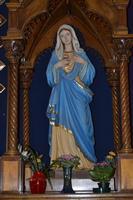 statua dentro la chiesa  madonna delle lacrime    - Siracusa (5168 clic)