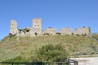 Castello Normanno , XIII-XIV secolo. Un ricco patrimonio archeologico attesta l'esistenza di un nucleo abitativo di Cefalà fin dall'età romana.  - Cefalà diana (707 clic)