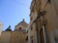cupole della Cattedrale e Chiesa di Santa Caterina - 9 maggio 2010  - Mazara del vallo (1614 clic)