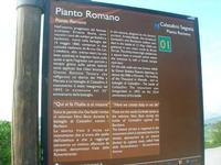 sul colle Pianto Romano - cartello turistico - 11 aprile 2010   - Calatafimi segesta (2911 clic)