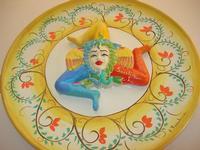 il simbolo della Sicilia in ceramica - Le Lanterne - 10 aprile 2010  - Calatafimi segesta (4586 clic)