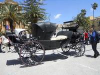carrozze in mostra - 16 maggio 2010  - Noto (2780 clic)