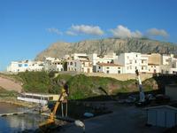 uno scorcio del paese nei pressi del porto - 2 novembre 2010 TERRASINI LIDIA NAVARRA
