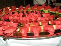anguria e frutti di bosco - Baglio Strafalcello - 22 giugno 2010  - Castellammare del golfo (3016 clic)