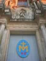 Chiesa di San Francesco all'Immacolata - particolare della facciata - 4 dicembre 2010 CALTAGIRONE LI