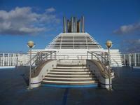 Mar Tirreno - a bordo della nave La Suprema - Grandi Navi Veloci - 13 ottobre 2011 PALERMO LIDIA N